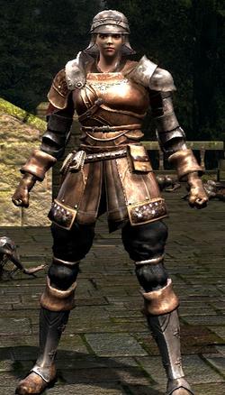 Warrior set female