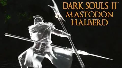 Dark Souls 2 Mastodon Halberd Tutorial (dual wielding w power stance)