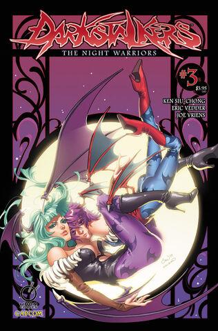 File:Darkstalkers the Night Warriors Volume 3.jpg