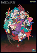 Darkstalkers Official Complete works