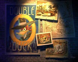 Double-O Duck development - Pereza art 1