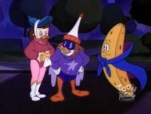 Mutantcy on the Bouncy - three mutant heroes