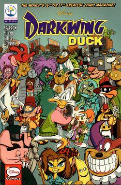 Darkwing Duck JoeBooks 6 cover