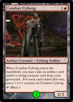Combat Cyborg Droidikar