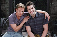 Will Horton and Sonny Kiriakis