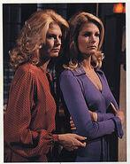 Samantha and Marlena Evans