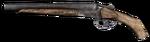 Sawed-off Izh43 Shotgun