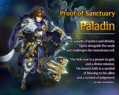 Awakened Paladin release poster