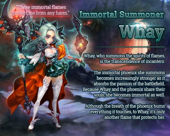 Immortal Summoner Whay release poster