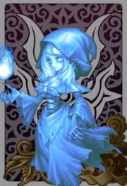 Praying Banshee Witch