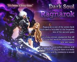 Dark Soul Ragnarok release poster