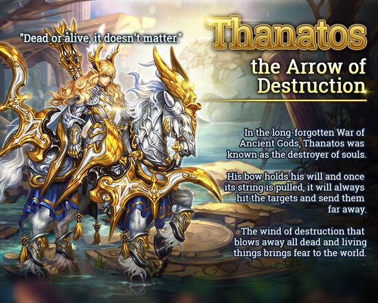 Dark Soul Thanatos release poster