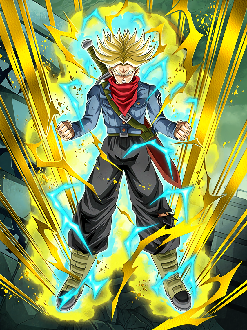 Defender of the Future Super Saiyan Trunks (Future ...