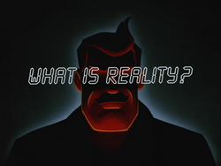 What Is Reality-Title Card