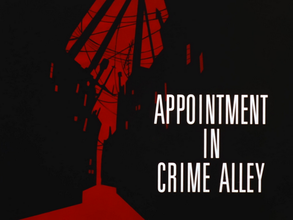 Image result for batman the animated series appointment in crime alley