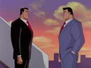 Bruce and Clark bid goodbye