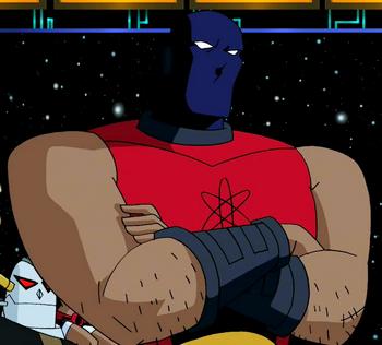 Atom Smasher Dc Animated Universe Fandom Powered By Wikia