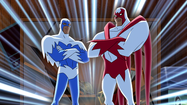 hawk and dove dc animated universe fandom powered by. Black Bedroom Furniture Sets. Home Design Ideas