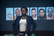Amanda Waller brings up the concept of Task Force X
