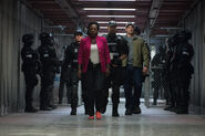 Amanda Waller enters Belle Reve