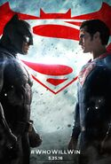 Batman v Superman Dawn of Justice poster - WhoWillWin