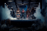 Cyborg leads the Justice League
