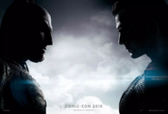 Batman v Superman Dawn of Justice Comic-Con 2015 poster