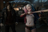 Killer Croc and Harley Quinn