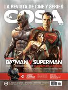 La Cosa Cine - Batman v Superman Dawn of Justice cover