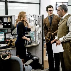 Daily Planet reporters: Lois Lane, Clark Kent & Perry White