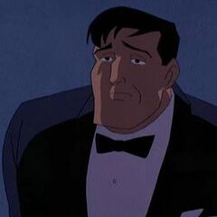 Bruce Wayne as he appears in <i>Batman: Mask of the Phantasm</i>.