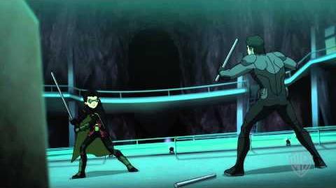 Batman vs. Robin - Nightwing Fight