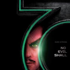 Poster featuring Mark Strong as Sinestro.