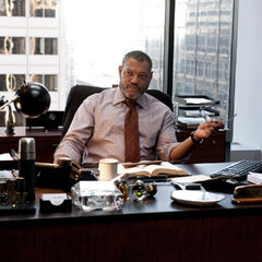 Perry in his office.