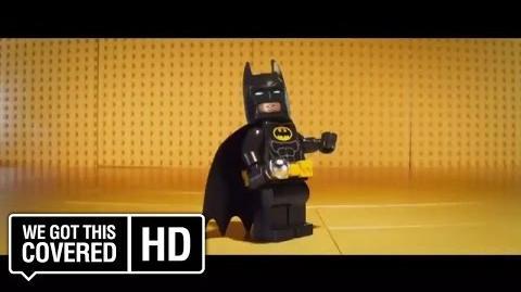 "The LEGO Batman Movie ""Always Be Yourself"" TV Spot HD Will Arnett, Rosario Dawson, Ralph Fiennes"