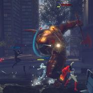 Minotaur battle
