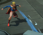 Supergirl freezing breath