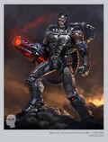 BLUR DCUO Cyborg Concept v2