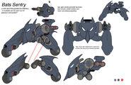 Batcave sentry by chuckdee