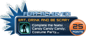 Feat - Eat, Drink and Be Scary