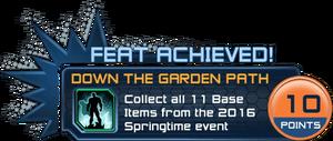 Feat - Down the Garden Path