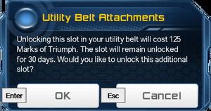 UBA Slot 3 Unlock