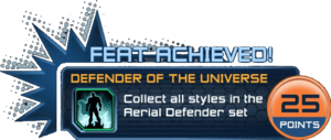 Feat - Defender of the Universe
