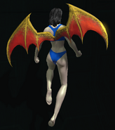 Hellborn Wings hovering