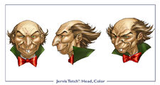JervisTetch head color
