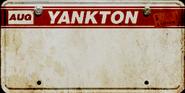 Autokennzeichen North Yankton