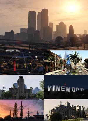 Ansichten der Stadt