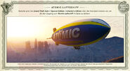 Blimp Luftschiff GTA V Aktion Rockstar