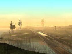 Flint-Autobahnkreuz