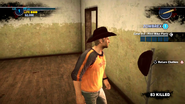Dead rising 2 case 0 black cowboy hat